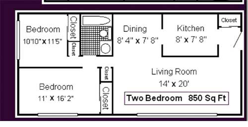 Two Bedroom Apartment for Rent